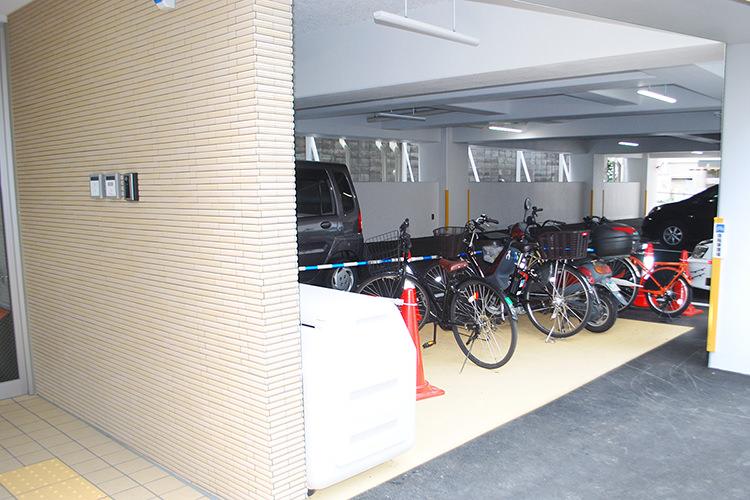 施設内駐輪所
