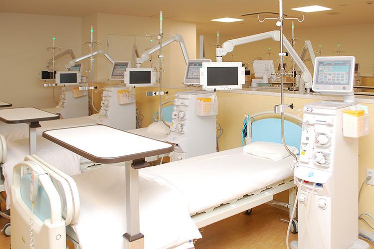 透析治療用 専用ベッド
